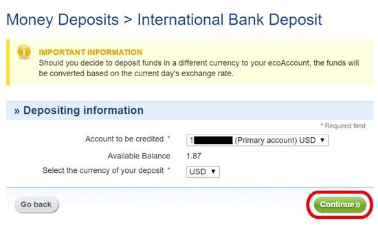 eco0021 - ecoPayz(エコペイズ)の入金方法、手数料、限度額の解説