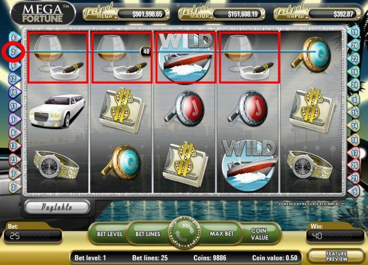 atari 5  - ベラジョンカジノのスロット高額当選ジャックポットで賞金者4億円の画像!ジャックポット必勝法も解説します