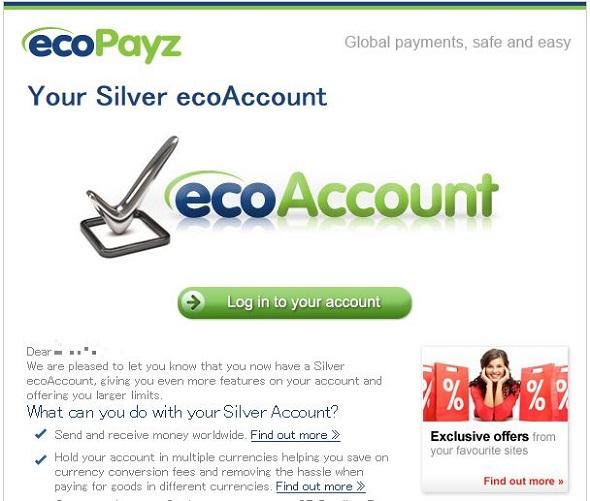 ko000867 - ベラジョンカジノのecoPayz(エコペイズ)登録方法、入金、出金、手数料、限度額の解説します