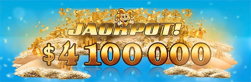 joker millions2 1 - ベラジョンカジノのスロット高額当選ジャックポットで賞金者4億円の画像!ジャックポット必勝法も解説します