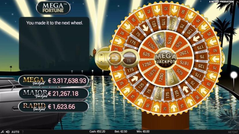 mega fortune winners wheel bonus feature how to win - ベラジョンカジノでスロットの大当たりジャックポットの確率は、宝くじ一等賞より高い理由
