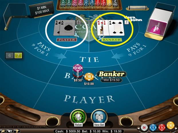 1575b02cbe4267ce0137d9f89e21f286 - ベラジョンカジノのバカラの基本ルール(やり方)賭け方、点数、配当、3枚目の条件、勝率アップのための攻略・必勝法
