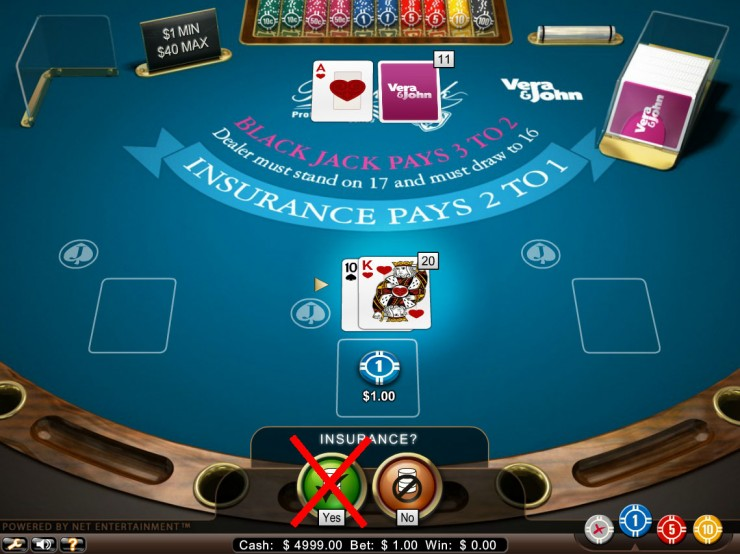 2 1 e1456227304149 - ベラジョンカジノのブラックジャックの基本ルールと賭け方。ブラックジャック攻略・必勝法の紹介