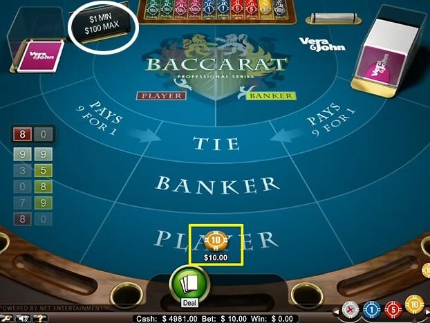 92e47afef3b1f1bcb636e64b2702b3c2 - ベラジョンカジノのバカラの基本ルール(やり方)賭け方、点数、配当、3枚目の条件、勝率アップのための攻略・必勝法