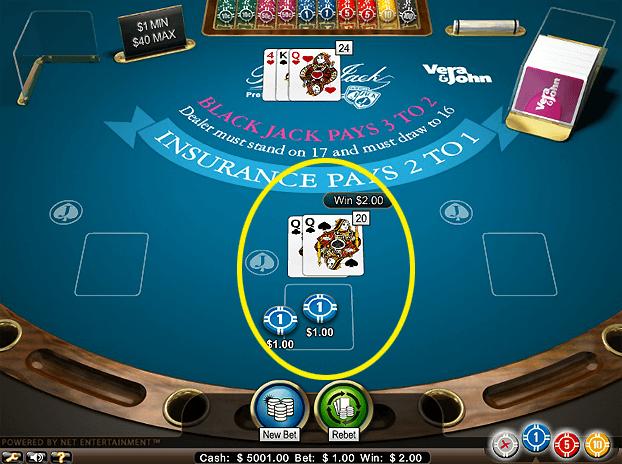f3dc2c2d62a8020e850294fd4f876dc8 1 - ベラジョンカジノのブラックジャックの基本ルールと賭け方。ブラックジャック攻略・必勝法の紹介