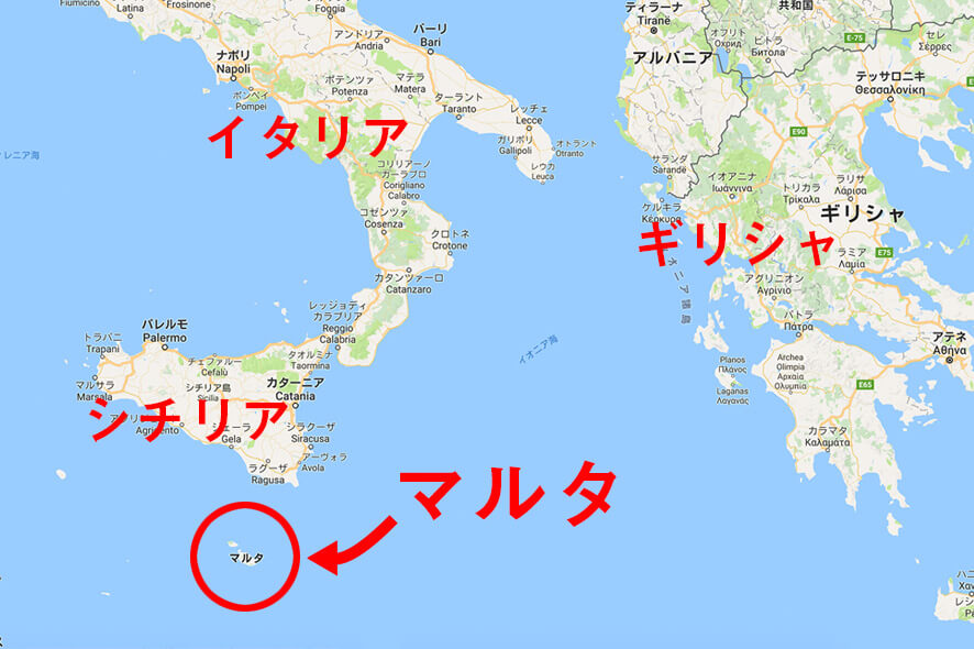 malta map - ベラジョンカジノは、不正ができない、イカサマや詐欺ができない理由