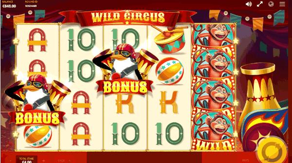 wild circus 01 - ベラジョンカジノのおすすめスロット機種を紹介。人気のスロット機種から一攫千金狙いスロットまで!(2020年度最新)