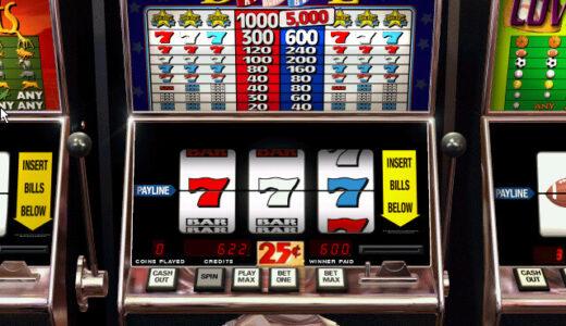 オンラインカジノのスロットゲームの遊び方とルール解説。スロット攻略&必勝法の紹介