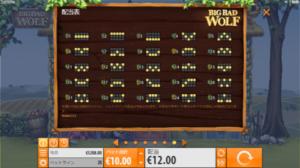 BB6 300x168 - 「Big Bad Wolf(ビッグバッドウルフ)」のスロット紹介&遊び方、ゲーム解説