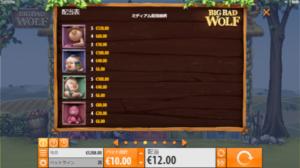BB7 300x168 - 「Big Bad Wolf(ビッグバッドウルフ)」のスロット紹介&遊び方、ゲーム解説