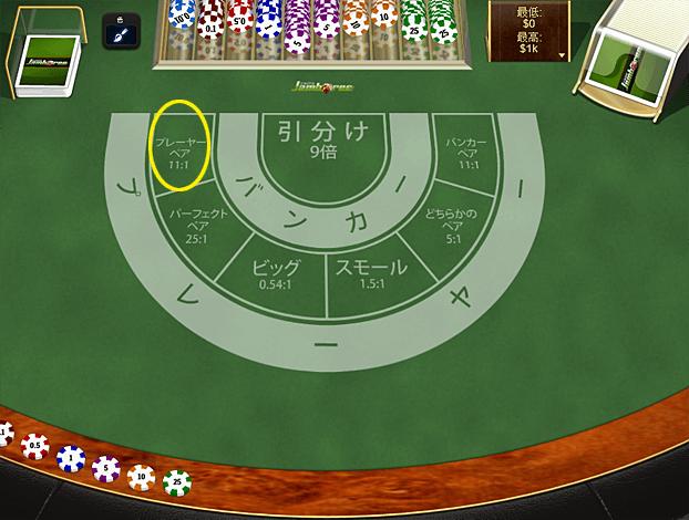 fb0086b6fa4e49d42d314143249e4d3f - ベラジョンカジノのバカラのやり方は、簡単!バカラのルール、賭け方、配当、勝率をまとめました