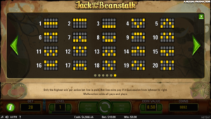 jpay2 300x169 - 「Jack and the Beanstalk(ジャック&ビーンストーク)」のスロット紹介&遊び方、ゲーム解説