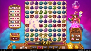 SA5 300x169 - 「Sweet Alchemy(スイートアルケミイ)」のスロット紹介&遊び方、ゲーム解説