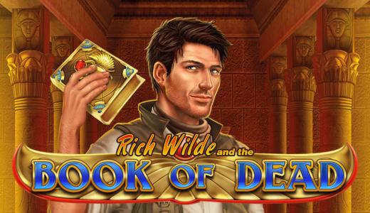 「Book of Dead(ブックオブデッド)」のスロット紹介&遊び方、ゲーム解説