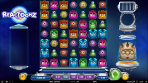 r1 300x169 - 「Reactoonz(リアクトゥーンズ)」のスロット紹介&遊び方、ゲーム解説