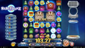 r4 300x169 - 「Reactoonz(リアクトゥーンズ)」のスロット紹介&遊び方、ゲーム解説