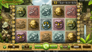 g01 2 300x169 - 「Gonzo's Quest(ゴンゾーズクエスト)」のスロット紹介&遊び方、ゲーム解説