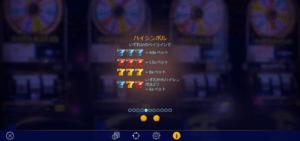 g03 1 300x141 - 「Golden Wheel(ゴールデンホイール)」のスロット紹介&遊び方、ゲーム解説
