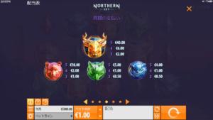 n02 300x169 - 「Northern Sky(ノーザンスカイ)」のスロット紹介&遊び方、ゲーム解説