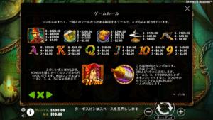 d02 2 300x169 - 「Da Vinci's Treasure(ダビンチトレジャー)」のスロット紹介&遊び方、ゲーム解説