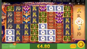 t08 300x169 - 「Totem Lightning Power Reels(トーテムライトニングパワーリールズ)」のスロット紹介&遊び方、ゲーム解説