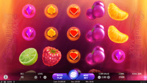 b01 300x169 - 「Berryburst Max(ベリーバーストマックス)」のスロット紹介&遊び方、ゲーム解説