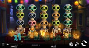 e01 300x164 - 「Esqueleto Explosivo(エスケレートエクスプラシーボ)」のスロット紹介&遊び方、ゲーム解説