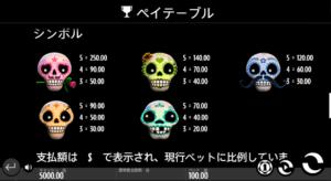e02 300x164 - 「Esqueleto Explosivo(エスケレートエクスプラシーボ)」のスロット紹介&遊び方、ゲーム解説