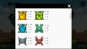 s02 1 300x169 - 「Secrets of the Phoenix(シークレットオブザフェニックス)」のスロット紹介&遊び方、ゲーム解説