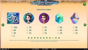 f02 300x169 - 「Fairytale Legends: Mirror Mirror(フェアリーテイルレジェンズ:ミラーミラー)」のスロット紹介&遊び方、ゲーム解説