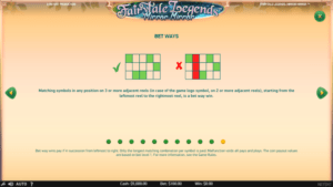 f04 300x169 - 「Fairytale Legends: Mirror Mirror(フェアリーテイルレジェンズ:ミラーミラー)」のスロット紹介&遊び方、ゲーム解説