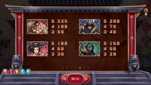 h05 1 300x169 - 「Hanzo's Dojo(ハンゾーズドージョー)」のスロット紹介&遊び方、ゲーム解説