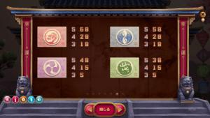 h06 300x169 - 「Hanzo's Dojo(ハンゾーズドージョー)」のスロット紹介&遊び方、ゲーム解説