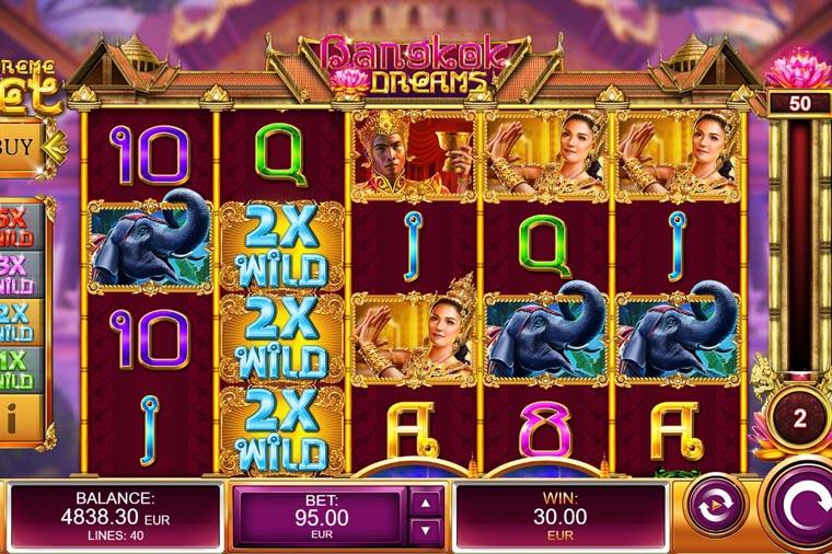Bangkok Dreams screenshot 1 - ベラジョンカジノのVIPプレイヤーにオススメのハイローラー向け高額ベット可能なゲームを紹介